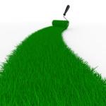 Рулонные газоны в ландшафтном дизайне