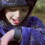 Уникальный телефон-браслет для детей.