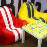 Бескаркасные кресла как удобство и практичность